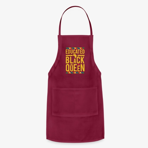 Educated Black Queen - Adjustable Apron