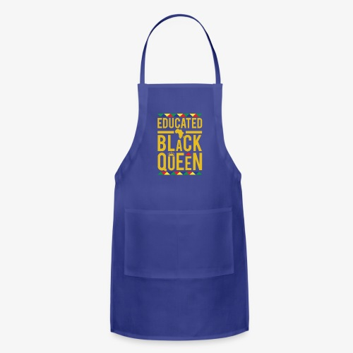 Educated Black Queen - Adjustable Apron