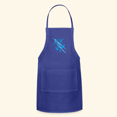 Blue Splash - Adjustable Apron