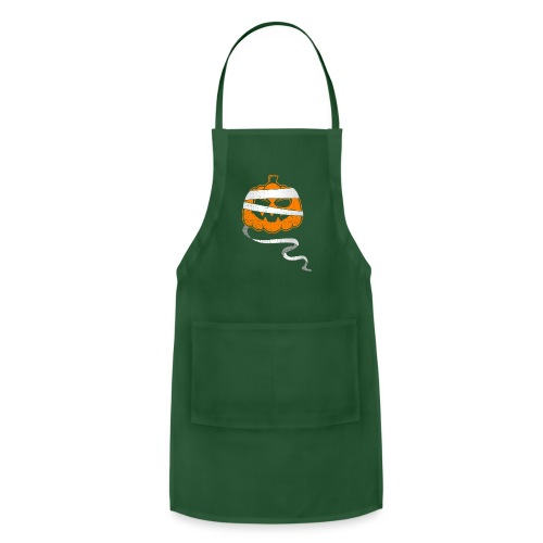 Halloween Bandaged Pumpkin - Adjustable Apron