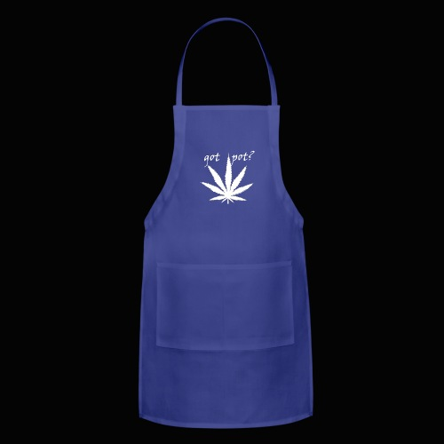 got pot? - Adjustable Apron