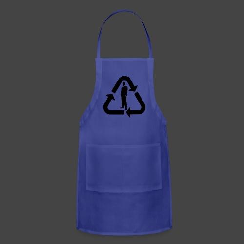Recycle (Man Logo 1 - Dark) - Adjustable Apron