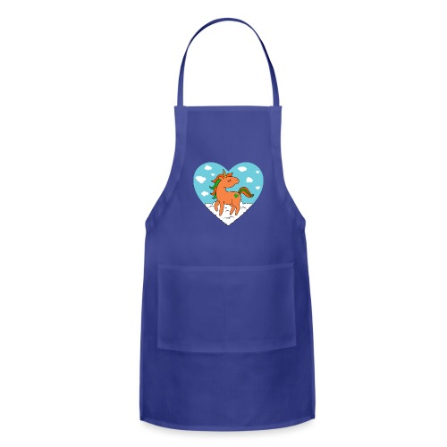 Unicorn Love - Adjustable Apron