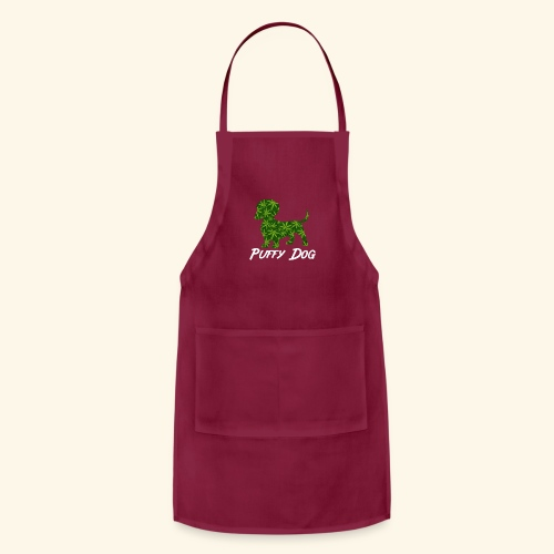 PUFFY DOG - PRESENT FOR SMOKING DOGLOVER - Adjustable Apron