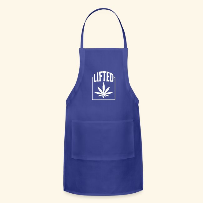 LIFTED T-SHIRT FOR MEN AND WOMEN - CANNABISLEAF
