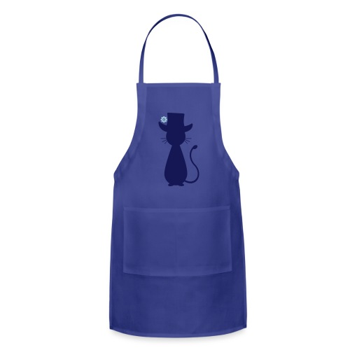 Cats - a Cat with a Hat - Adjustable Apron