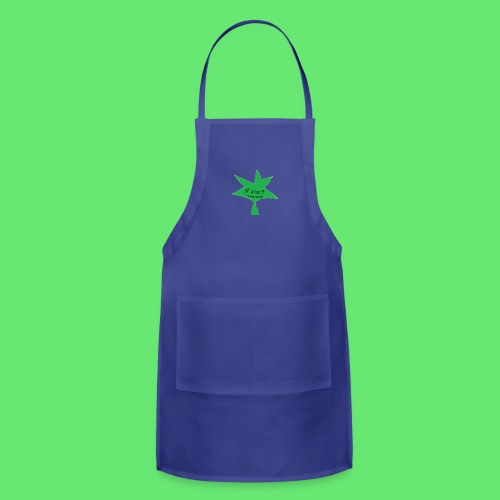 ESCLUSIVE!! 420 weed is coolio for kidlios SHIrT!1 - Adjustable Apron
