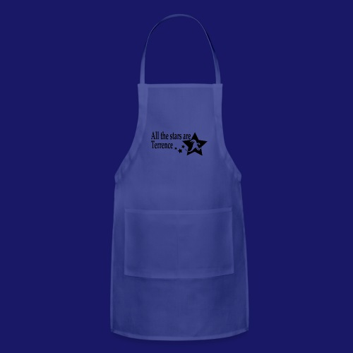 All the Stars Are Terrence - Adjustable Apron