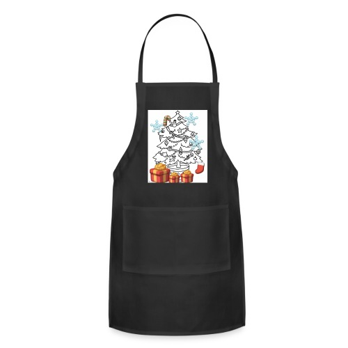 Christmas is here!! - Adjustable Apron