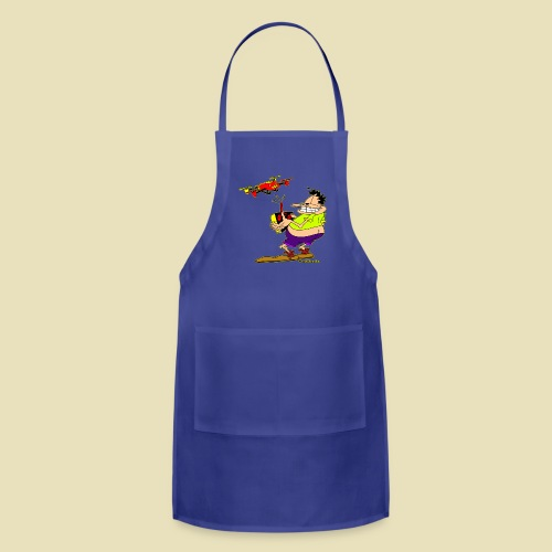 GrisDismation Ongher Droning Out Tshirt - Adjustable Apron