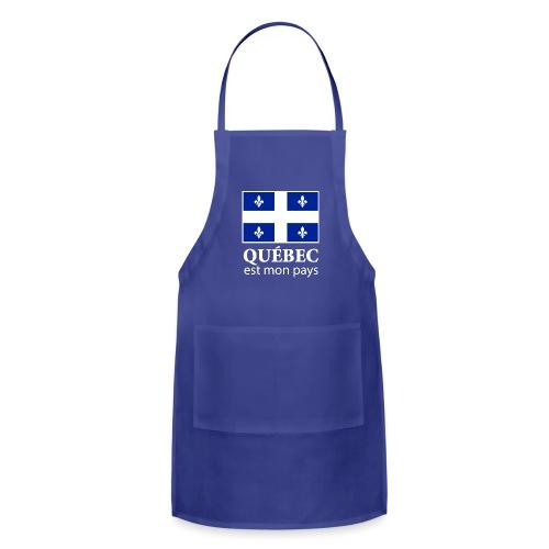 Québec est mon pays - Adjustable Apron
