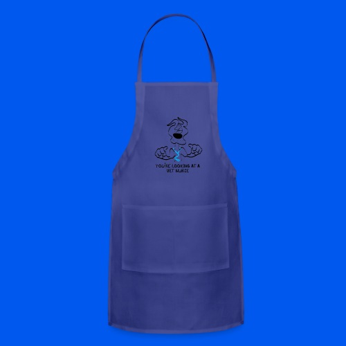 your looking at a vet nurse DOG - Adjustable Apron