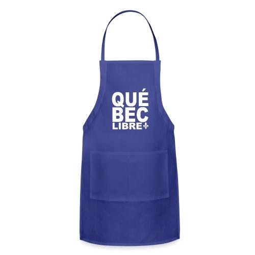 Québec libre - Adjustable Apron
