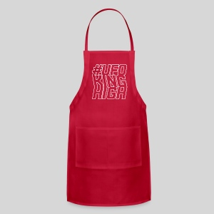 ALIENS WITH WIGS - #UFOKingHigh - Adjustable Apron