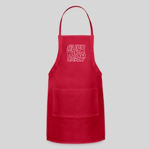 ALIENS WITH WIGS - #UFOKingCrazy - Adjustable Apron