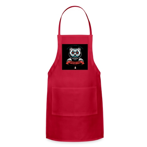 Grizz Day of the Dead Sweatshirt - Adjustable Apron