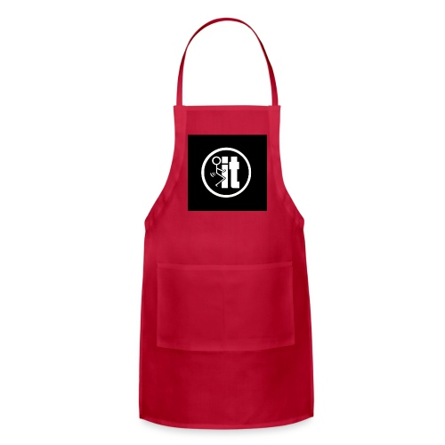 fuck it round tshirt - Adjustable Apron