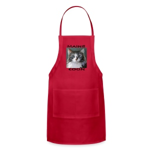Maine Coon Cat - Adjustable Apron