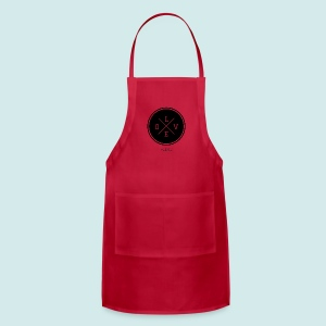 #love black and white - Adjustable Apron