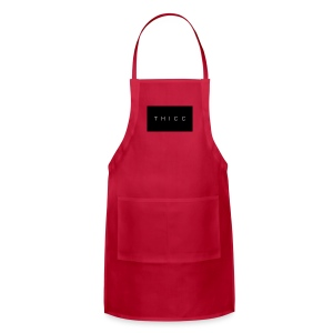 T H I C C T-shirts,hoodies,mugs etc. - Adjustable Apron