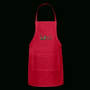 Love and War - Army - Adjustable Apron