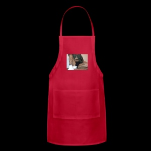 self modeled - Adjustable Apron