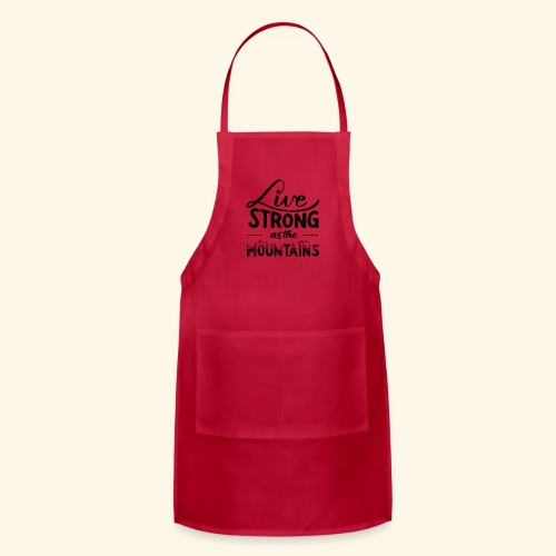 LIVE STRONG - Adjustable Apron