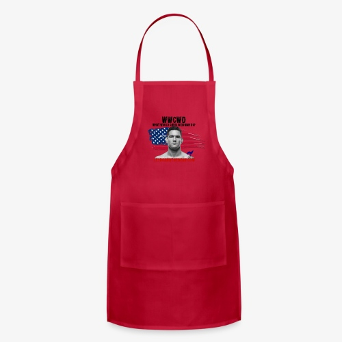 What Would Chris Weidman Do - Adjustable Apron