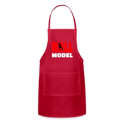 This wheelchair user is also a roll model - Adjustable Apron