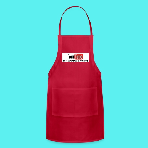 youtube logo - Adjustable Apron