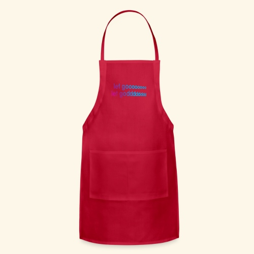 LET GO LET GOD LGLG #5 - Adjustable Apron