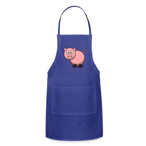 Funny Pig T-Shirt - Adjustable Apron