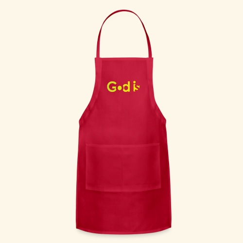 GOD IS #7 - Adjustable Apron