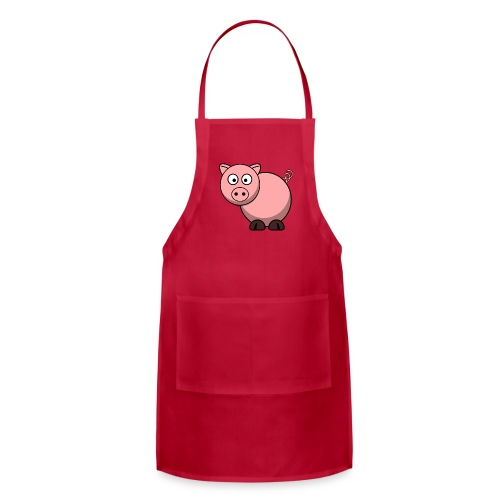 Funny Pig T-Shirt - Adjustable Apron