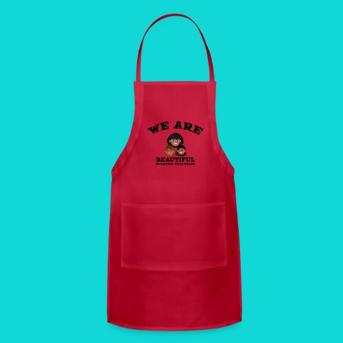 You are Beautiful Black Woman - Adjustable Apron