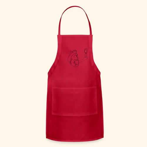 Wounded Heart - Adjustable Apron