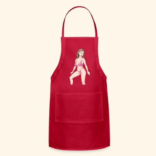 swimsuit pink - Adjustable Apron