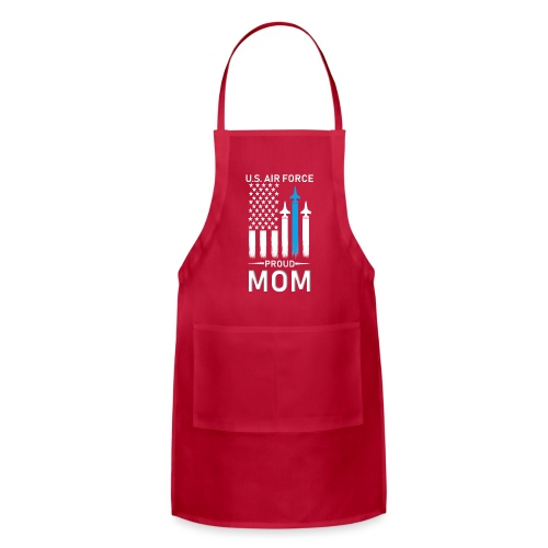 Proud Air Force Mom - Adjustable Apron