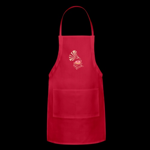 Donut Stop the Music | Sweet Gramophone - Adjustable Apron