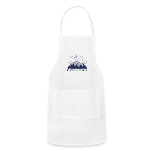 Adventure Mountains T-shirts and Products - Adjustable Apron