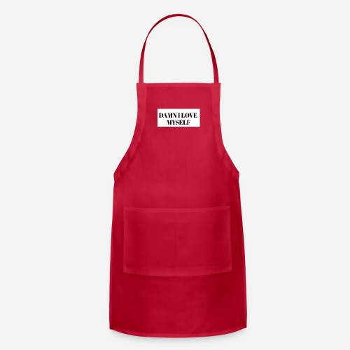Queen have arrived hater take a sit - Adjustable Apron
