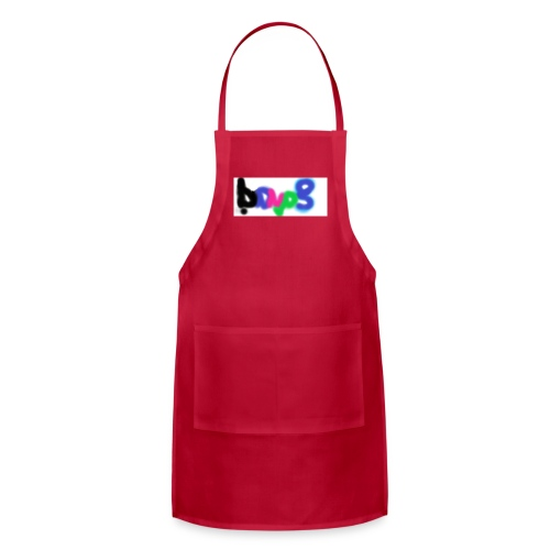 brush the haters off - Adjustable Apron