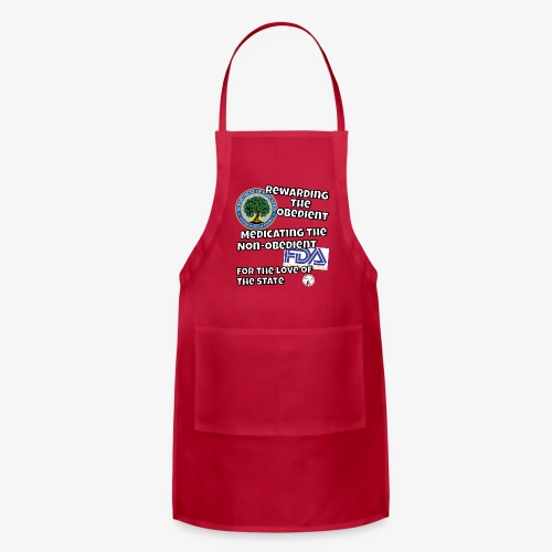 US Dept. of Education - Rewarding the Obedient... - Adjustable Apron