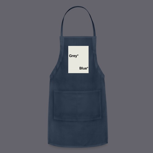 Grey* Blue* - Adjustable Apron