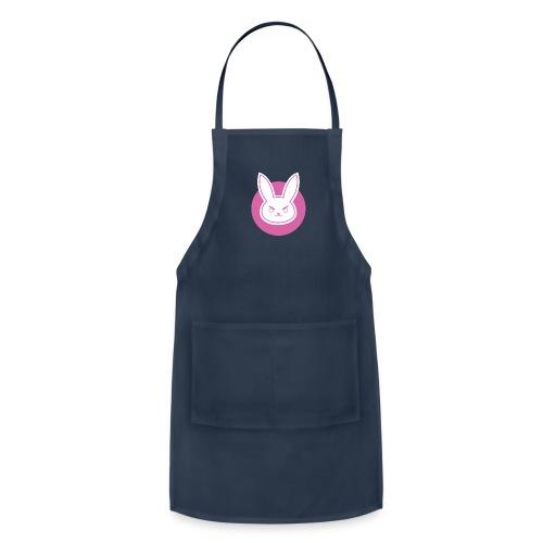 pink rabbit - Adjustable Apron