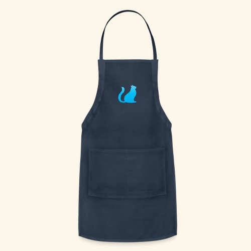 Bleu cat - Adjustable Apron