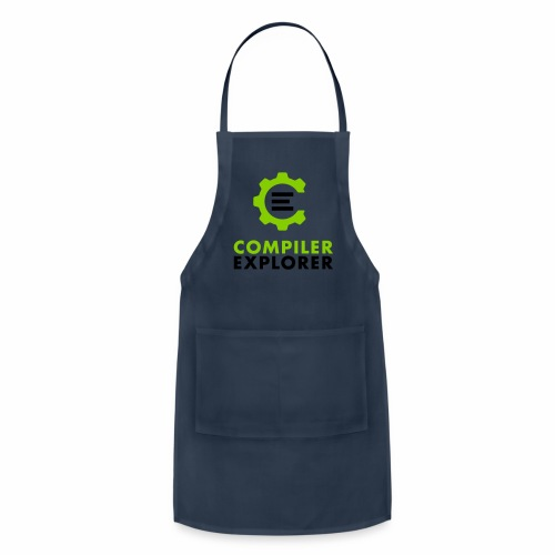 Logo and text - Adjustable Apron