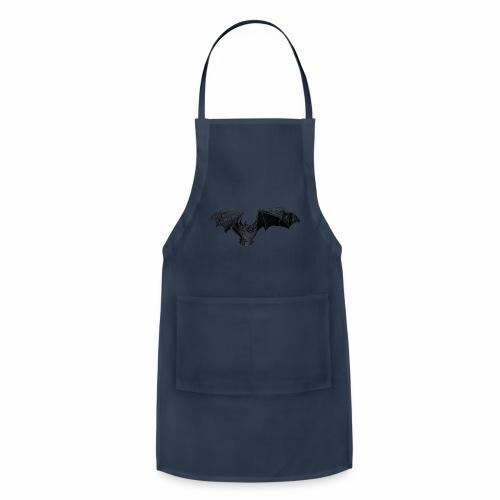 Tri-Colored Bat - Adjustable Apron