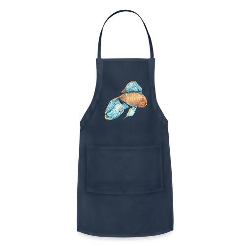 Blue Goldfish - Adjustable Apron