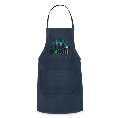 Northern Wisconsin NORML Official Logo - Adjustable Apron